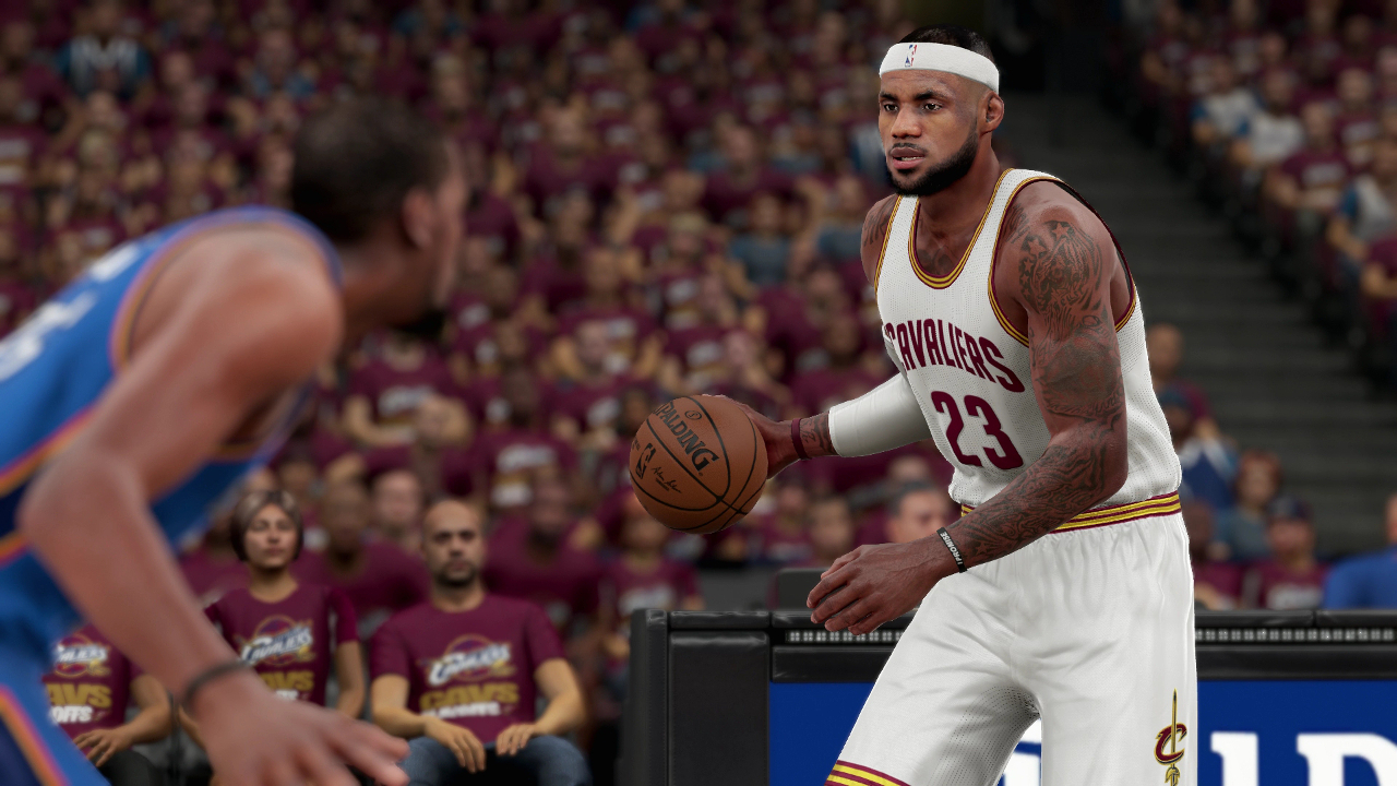NBA 2K16 LeBron James
