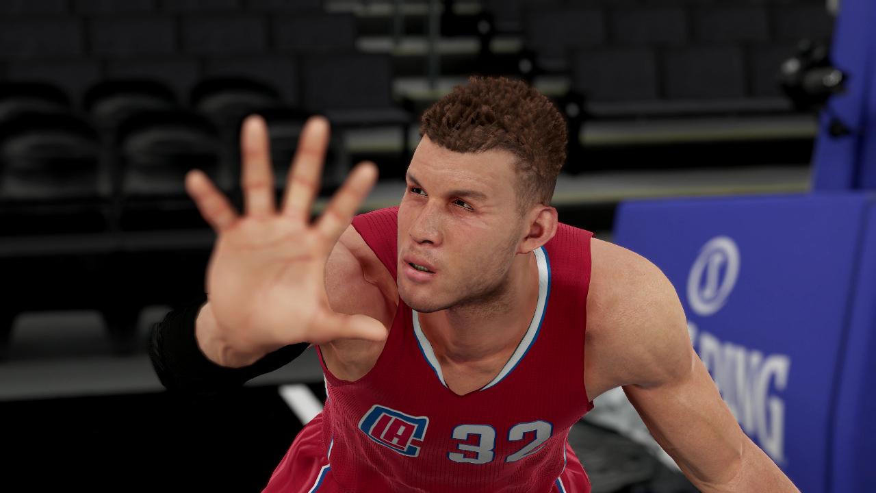 NBA 2K16 Blake Griffin hand