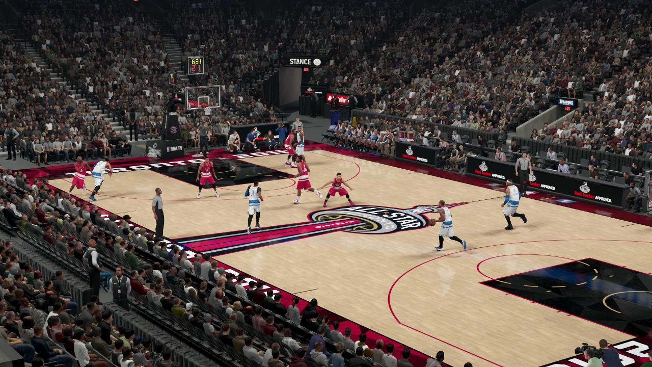 NBA 2K16 Toronto All-Star Game
