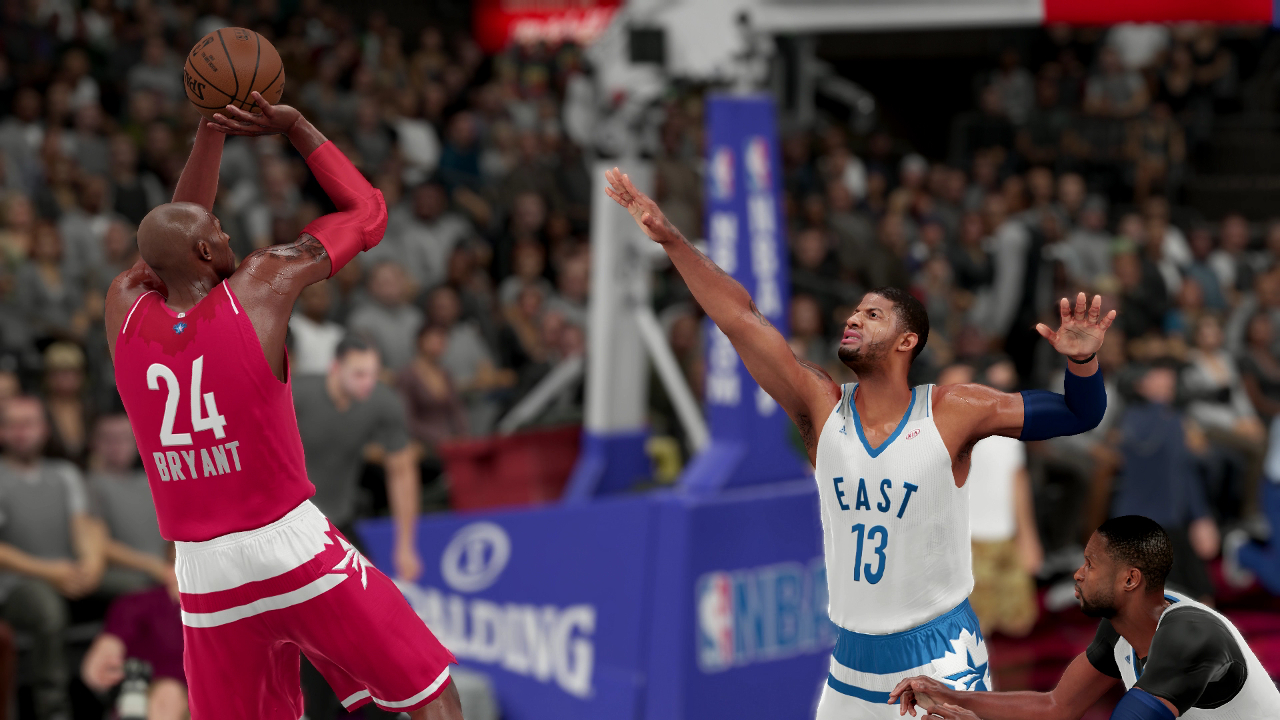 NBA 2K16 All-Star Game Uniforms Toronto 2016