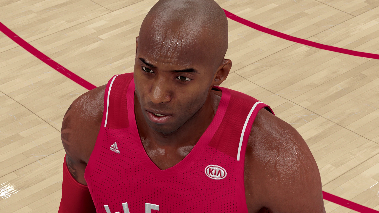 NBA 2K16 All-Star Game Uniform Advertisement Sponsorship Kia