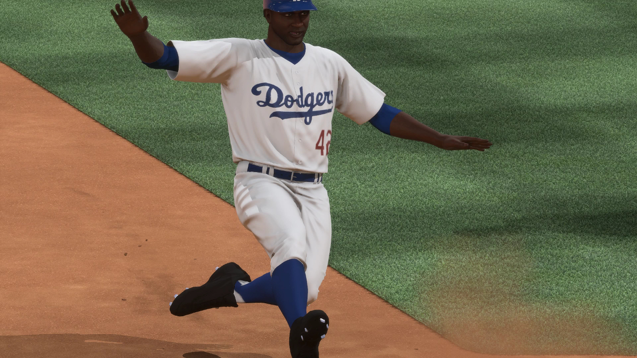 Jackie Robinson in MLB The Show 16