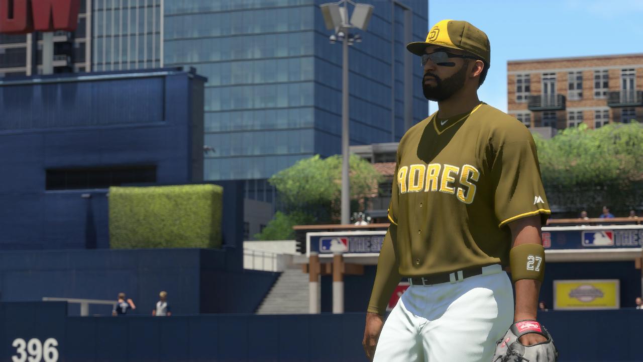 MLB The Show 16 Padres Alternate Uniform