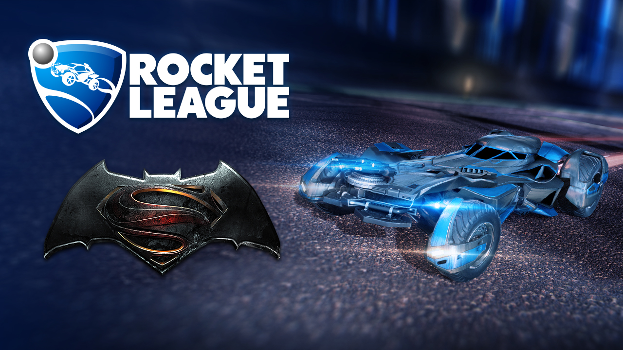 Rocket League Batmobile Batman v Superman