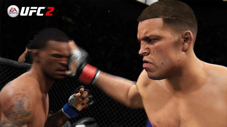 EA Sports UFC 2 Stockton Slap