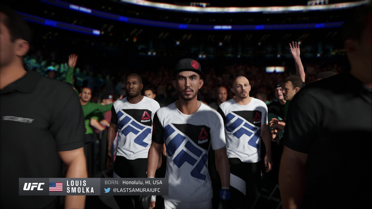 Louis Smolka EA Sports UFC 2