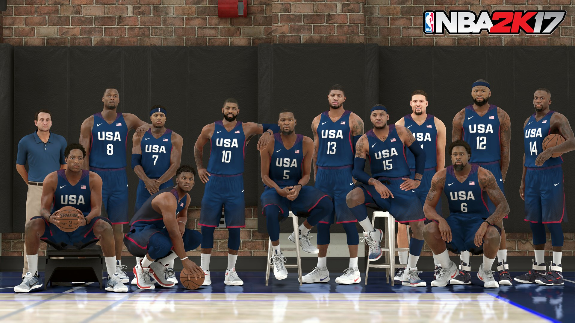 NBA 2K17 Team USA Rio Olympics