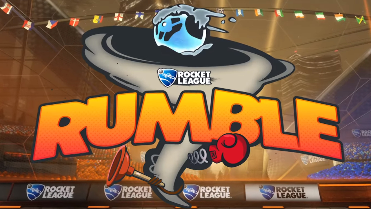 Rocket League Rumble Mode