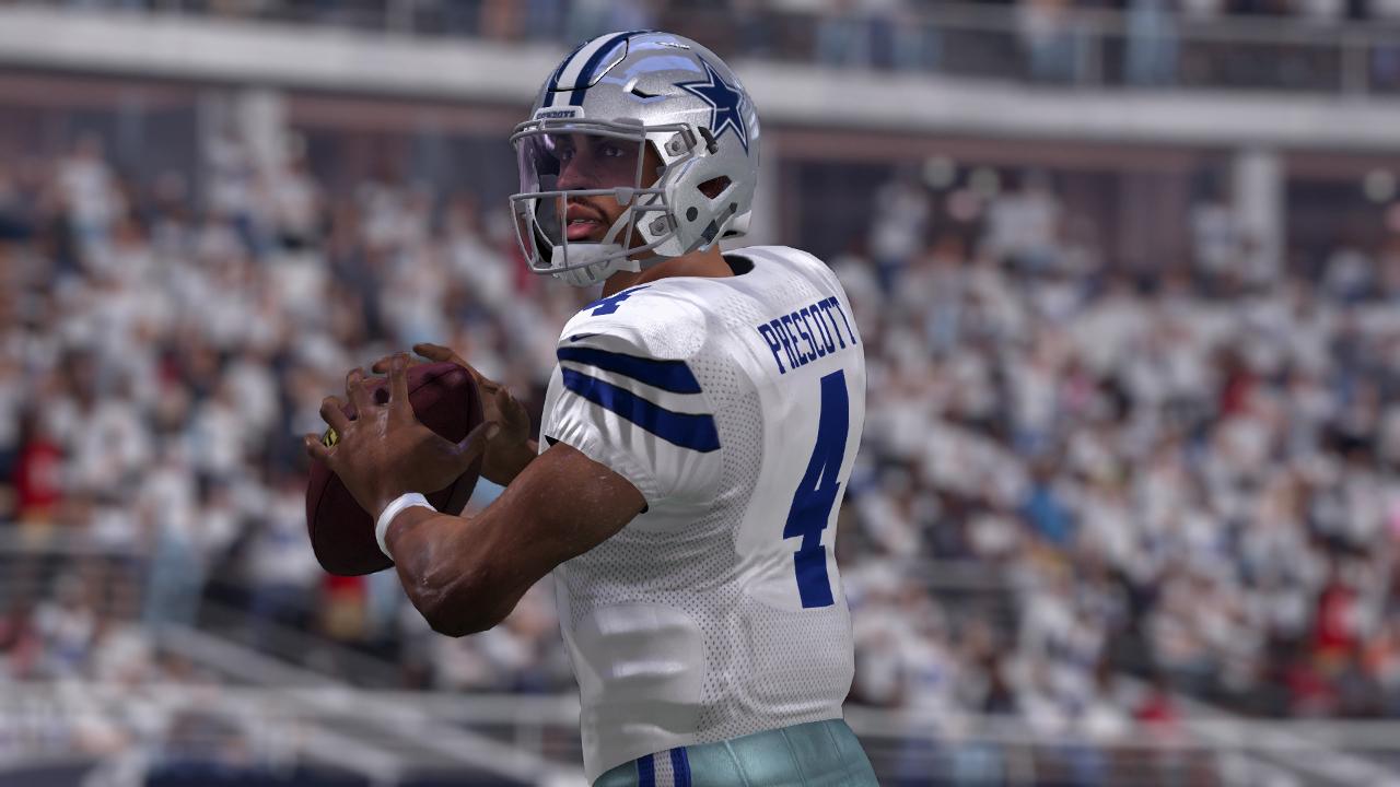 Zak Prescott Madden NFL 17