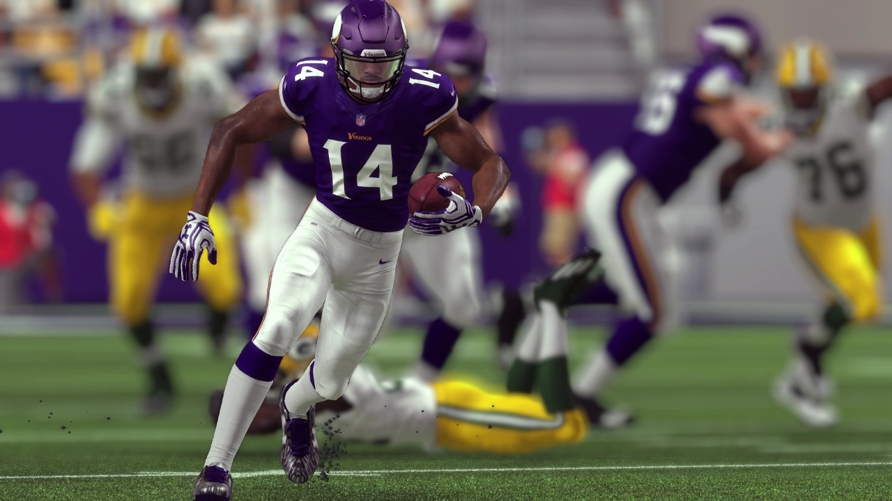 Stefon Diggs Madden NFL 17