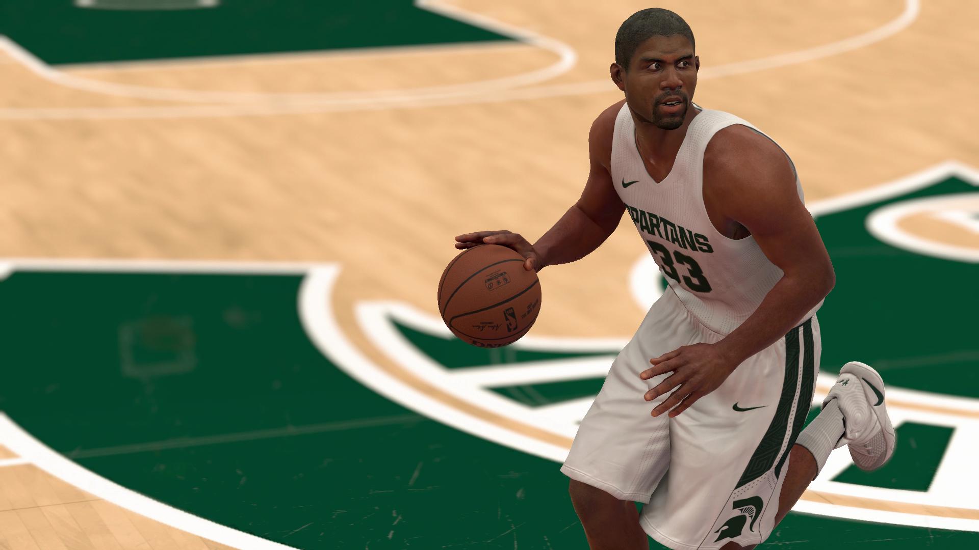 NBA 2K17 Magic Johnson Michigan State