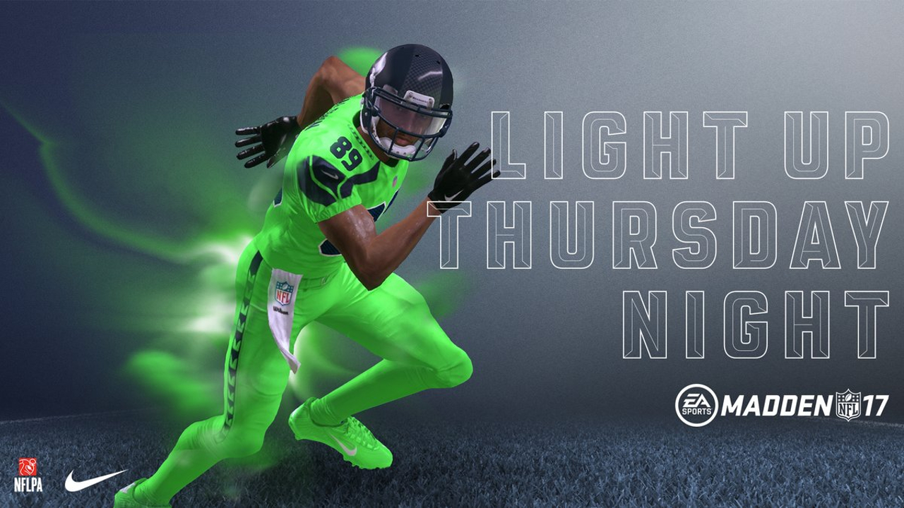 Madden NFL 17 Color Rush Seahawks