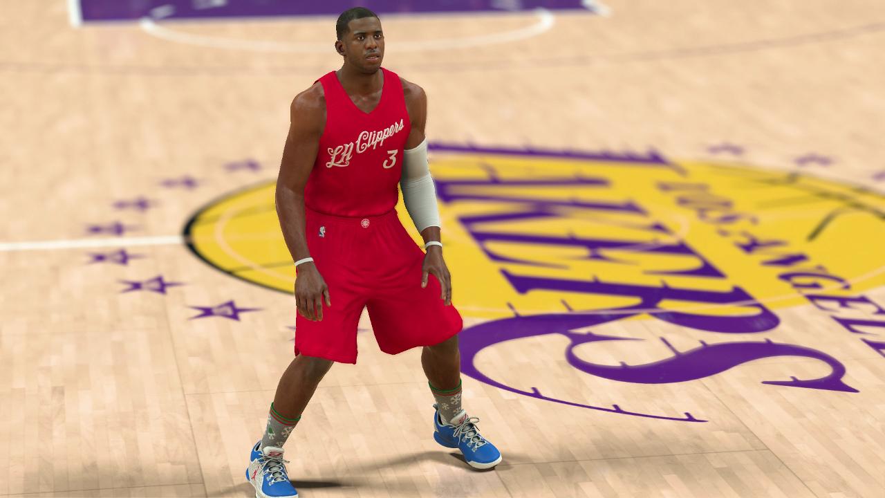 Christmas uniforms added to NBA 2K17 | pastapadre.com