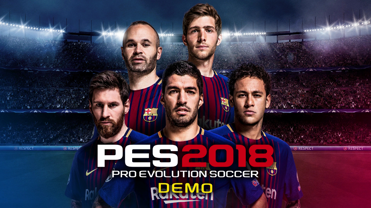 PES 2018 demo is out now | pastapadre.com