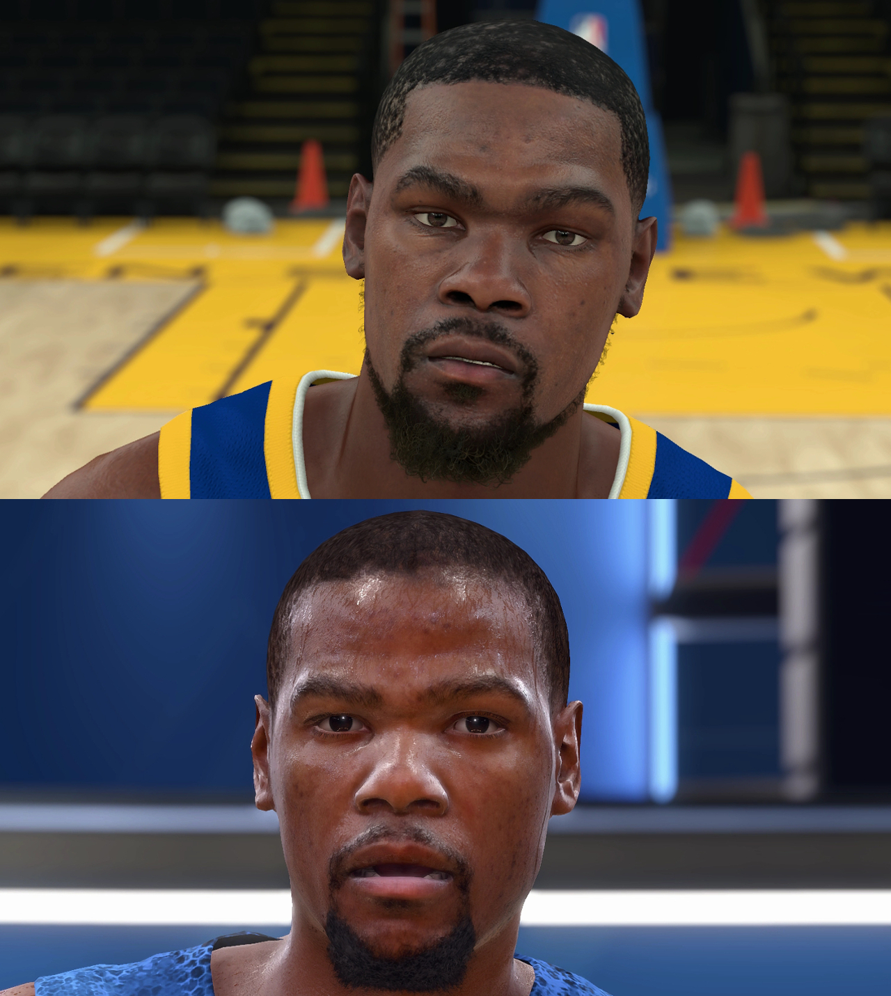 NBA 2K18 vs NBA Live 18 Player Face Comparison, Part Three | pastapadre.com