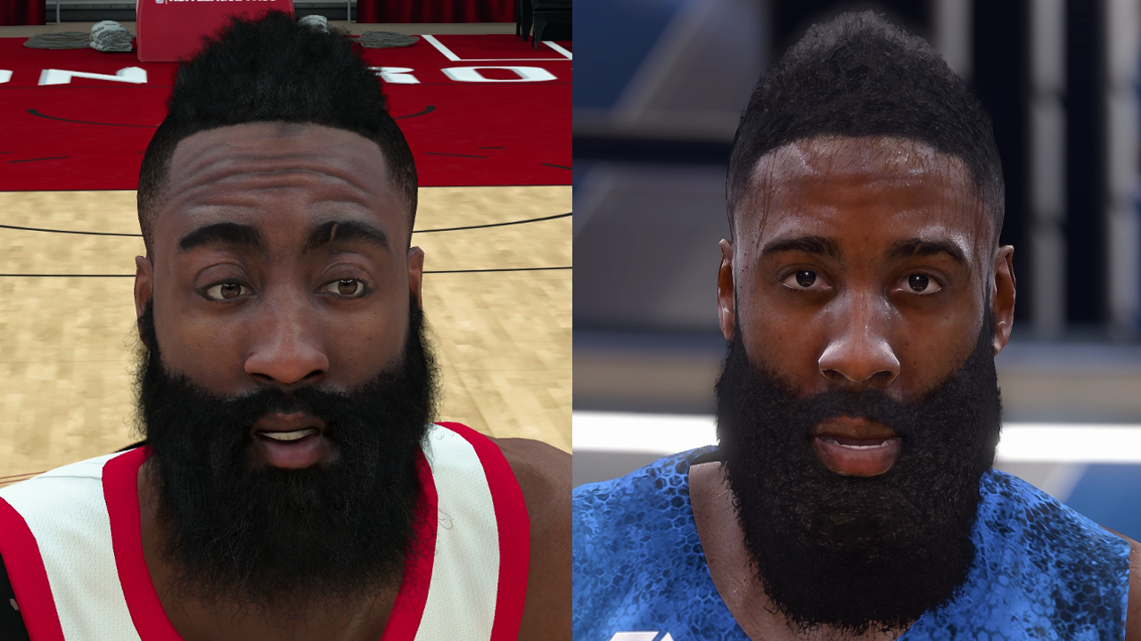 NBA 2K18 vs NBA Live 18 Player Face Comparison, Part Two