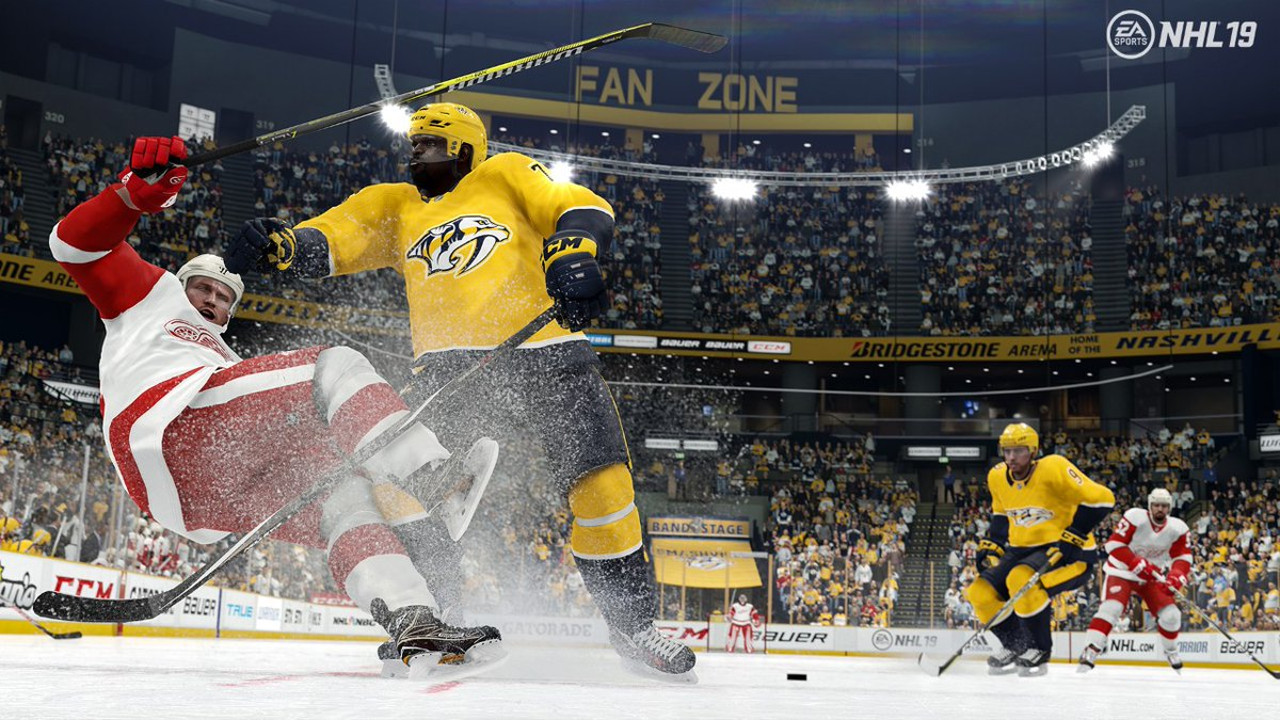 Earlier this month EA Sports made a radical decision to turn back all the gameplay  changes that had been made post-release in NHL 19 40f031329