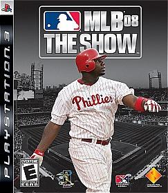 MLB 08: The Show box art mini