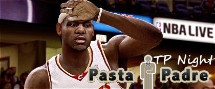 Pastapadre NBA Live 08 OTP Night