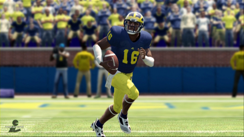 denard robinson ncaa football screenshot