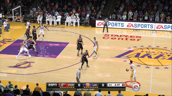The Hidden Gem of NBA Live 15 Is The ESPN Camera Angle ...